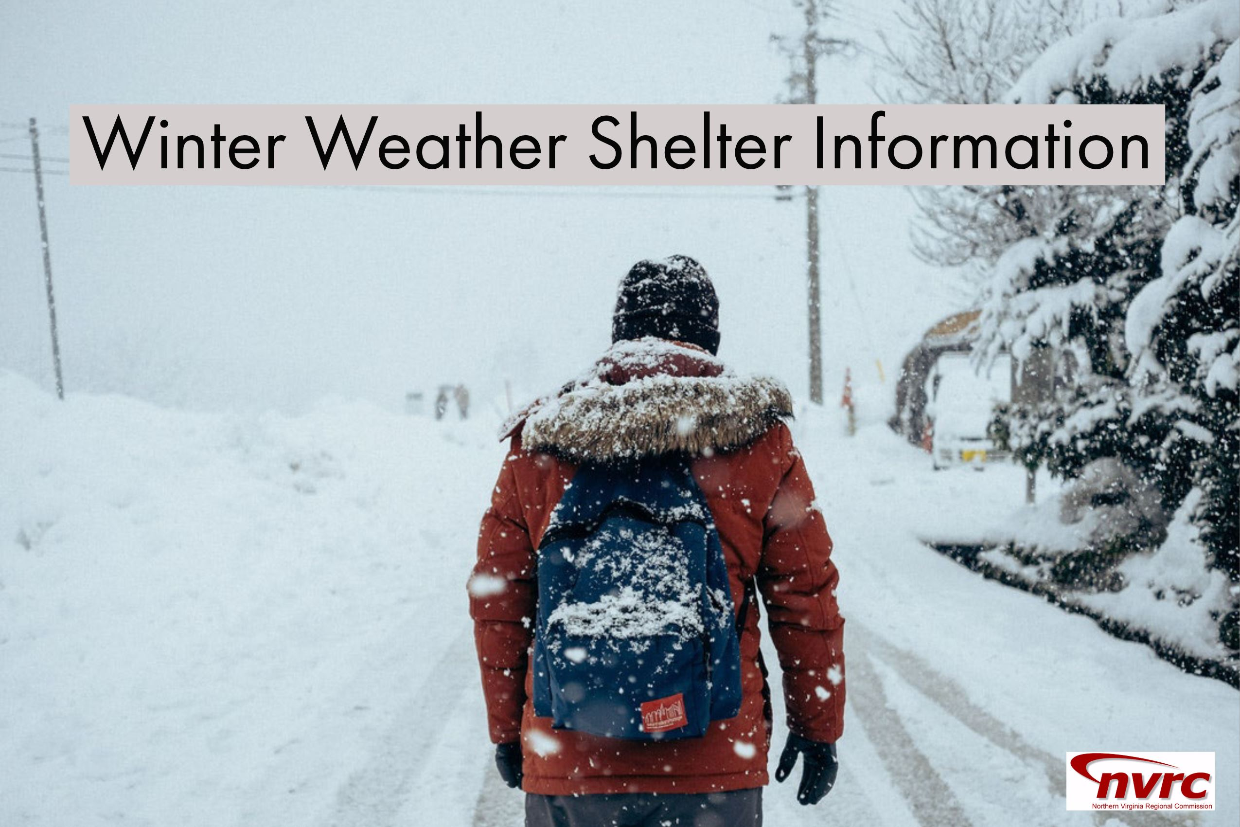 Winter Weather Shelter Information